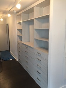 Bedroom Built In Wall Unit In The Gold Coast Closet Outfitters