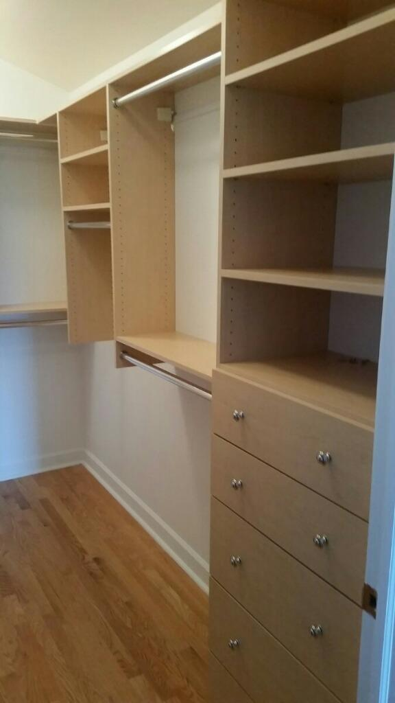 Basic Walk In Closet In Riverside Closet Outfitters