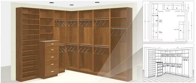 Closet Outfitters Design Process